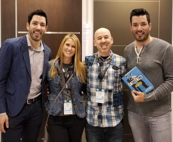 Property Brothers Drew and Jonathan Scott Tesla Homes 2018